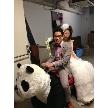 LIVING ROOM~Ratia Wedding~:入場は、他にはないパンダでインパクト!?ゲストの皆様も驚き!興奮!