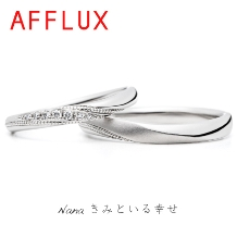 OPERA(オペラ)_男性も注目中の7/7がテーマの結婚指輪【AFFLUX】Nana(ナナ)