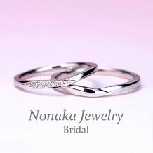 NONAKA JEWELRY(ノナカジュエリー)_MpTOM209-210SH 結婚指輪ペア 非常に丈夫なスーパーハードプラチナ
