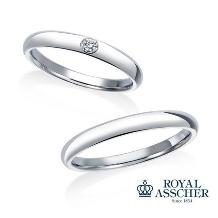 JEWELRY OHASHI(ジュエリー・オーハシ)_【ロイヤルアッシャー】シンプルだからこそのダイヤモンドの輝き。安定の人気モデル。