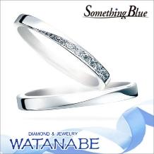 WATANABE/卸商社直営 渡辺:【嬉しい卸直営価格はお問合せ下さい】サムシングブルー マリッジリング