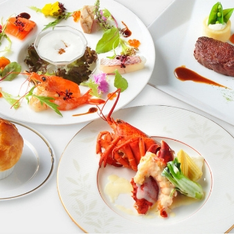 ホテルクラウンパレス浜松:【料理重視の方へ】月イチ限定フルコースを満喫できる贅沢フェア