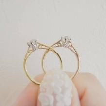 hirai art gallery(ヒライアートギャラリー):《ラパージュ》【SNSで話題ブランド】横顔美人な一目惚れ婚約指輪【プロポーズに】