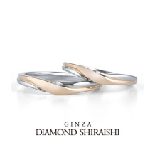 銀座ダイヤモンドシライシ:PTとPGのコンビは、PG部分が二人の絆を示す「赤い糸」を表現【アイグレイ】
