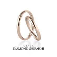 銀座ダイヤモンドシライシ:シンプルで飽きの来ない結婚指輪【OR(オーアール)】