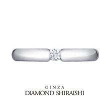 銀座ダイヤモンドシライシ:人気シリーズに1石タイプの甲丸マリッジが誕生【アノリューワン】