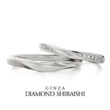 銀座ダイヤモンドシライシ:二人は手を取り合い、喜びに満ちた最高の瞬間へ【ビーゼアフォーユー】