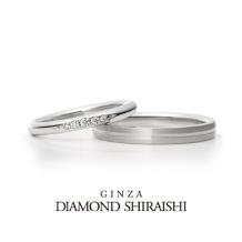 銀座ダイヤモンドシライシ_朝露のきらめきを、ダイヤモンドに【ティアオブリリー】