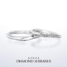 銀座ダイヤモンドシライシ_流れ星の光の帯のような輝き【スターリー】