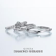 銀座ダイヤモンドシライシ:★NEW★流れ星の光の帯のような輝き【スターリー】