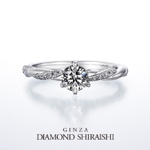 銀座ダイヤモンドシライシ_永遠に紡がれる愛の絆。【タイムレスラブ】