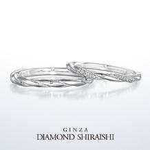 銀座ダイヤモンドシライシ_★NEW★永遠に紡がれる愛の絆。【タイムレスラブ】