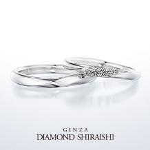 銀座ダイヤモンドシライシ_★NEW★一緒にいると、もっと輝くふたりの未来。【イリュミティ】マリッジリング