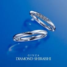 銀座ダイヤモンドシライシ:一緒にいると、もっと輝くふたりの未来。【イリュミティ】