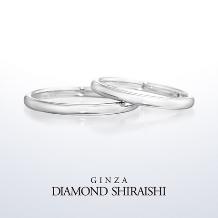 銀座ダイヤモンドシライシ:アノリュー(マリッジリング)