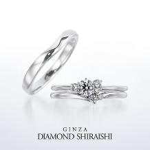 銀座ダイヤモンドシライシ:家々に灯る暖かなあかり。【グロー オブ ラブ】