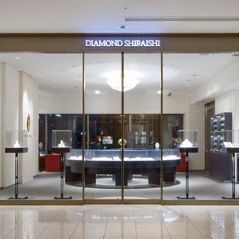 銀座ダイヤモンドシライシ:ホテル テラス ザ ガーデン水戸店