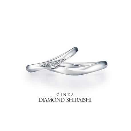 銀座ダイヤモンドシライシ:クレール 7ML(マリッジリング)