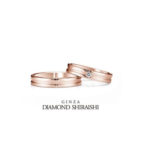 銀座ダイヤモンドシライシ:切る事の出来ない2人の強い絆を表した【エターナルフロー 08,09 PG】