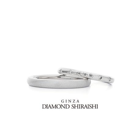 銀座ダイヤモンドシライシ:新しい芽が開く、その瞬間の輝き【ダイヤモンド グラス】