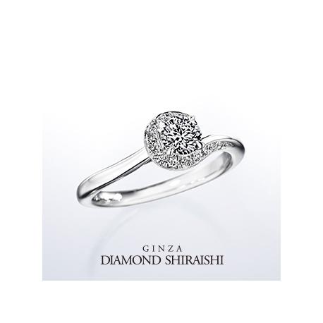 銀座ダイヤモンドシライシ:★NEW★一緒にいると、もっと輝くふたりの未来。【イリュミティ】エンゲージリング