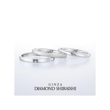 銀座ダイヤモンドシライシ:私の一部になるリング。【パート オブ ミー】