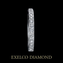 エクセルコ ダイヤモンド_【エクセルコ】輝く七色の光を、ダイヤが煌めくリングで表現『ディスパーション01』