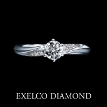エクセルコ ダイヤモンド_【エクセルコ】月の輝きに包まれるリング『クレア ド ルーン フィーヌ』