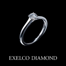エクセルコ ダイヤモンド_【NEW・エクセルコ】二人を導く、一筋の光。『レヨン ド リュミエール』