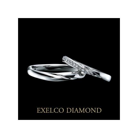 エクセルコ ダイヤモンド:【エクセルコ】リュミエトゥール「輝ける塔~幸せの原点~」(マリッジリング)