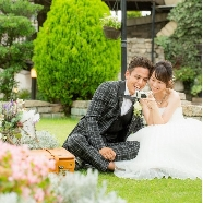 コッツウォルズ(Bridal On Water COTSWOLDS):【写真&SNS映え】緑溢れるガーデンでフォト体験