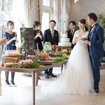 コッツウォルズ(Bridal On Water COTSWOLDS):\NEW/SNS映え×感動演出『テーブルアート』デザート試食