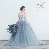 SOPHIA(ソフィア):【A by Hatsuko Endo】人気のブルーグレードレス