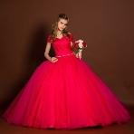 天使の工房 アトリエアン atelier ange:【アトリエアン】ボリューム×カラー変更可♪シンプルなカラードレス