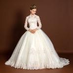 天使の工房 アトリエアン atelier ange:【アトリエアン】◆大人気◆長袖×チュール×ボリュームウエディングドレス