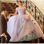 天使の工房 アトリエアン atelier ange:【アトリエアン】卒花フルオーダー×理想のデザイン&色のシンデレラカラードレス