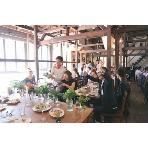 Kitahorie CAFE CHARBON(カフェ シャルボン):開放感あふれる空間はゲストのお客様の表情もより自然に♪