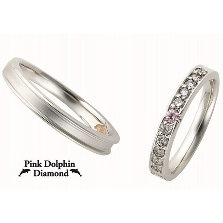 PROPOSE(プロポーズ):【PROPOSE】Pink Dolphin Diamond1255146・47