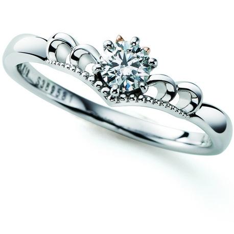 OBARA イオン千歳店:Disneyブライダルコレクション~Minnieシリーズ 婚約指輪