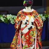 ウエディング代官山エフ:鶴が美しい色打掛