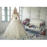 BRIDES(ブライズ):【JILLSTUART】チュールレースが散りばめられたクラシカルドレス☆
