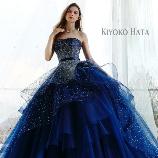 Chiffon:【KIYOKO HATA】グリッターを贅沢に散りばめた◆人気のゴージャスドレス