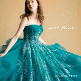 Chiffon:大人かわいい花嫁に◆輝くグリーンカラードレス