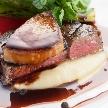 マリーゴールド ガーデンヒルズ:【お料理へのこだわり】和牛フィレ&フォアグラ堪能×限定特典