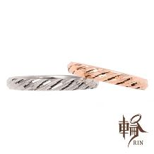 輪‐RIN‐_キラキラリングと言えばコレ☆細身ながらも存在感抜群!カットがゴージャスな結婚指輪