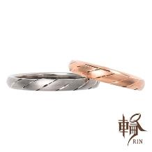 輪‐RIN‐_大人シンプル派にはコレ!上品な光沢が魅力的なゴールドの細身リング