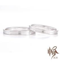 輪‐RIN‐_THEシンプル!中央のラインが指を綺麗に見せてくれる効果もあるデザイン!