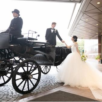 ウェスティンホテル東京:【初めて見学も安心♪】ウェスティンならではの馬車体験付フェア