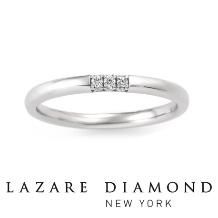 ANSHINDO BRIDAL(安心堂)_LAZARE DIAMOND ラザールダイヤモンド<スリーサイドリング>