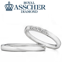 タカラ堂:【ロイヤル・アッシャー】ふたりが気に入る!シンプルすぎない結婚指輪